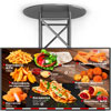 digital menu-Board hot dishes and side dishes American Hot Dog fast food restaurant