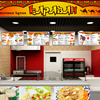 Creating fast food restaurant menus on TV and monitor screens